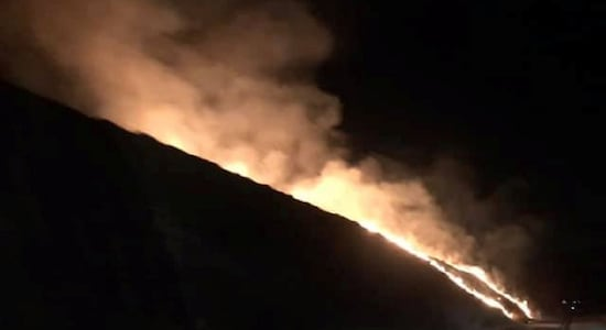 Huge fire breaks out in Greater Manchester