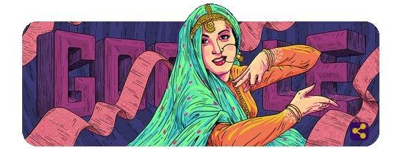 Google doodle celebrates 86th birthday of Bollywood actress Madhubala