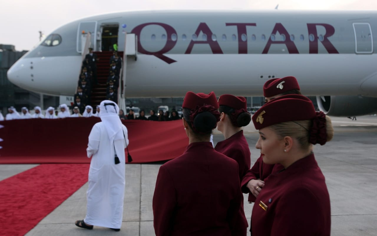 #1. Qatar Airways: Skytrax named it the 'World's Best Airline' five times earlier — in 2017, 2015, 2012 and 2011. Last year, the carrier was pipped by Singapore Airlines. (Image: Reuters)