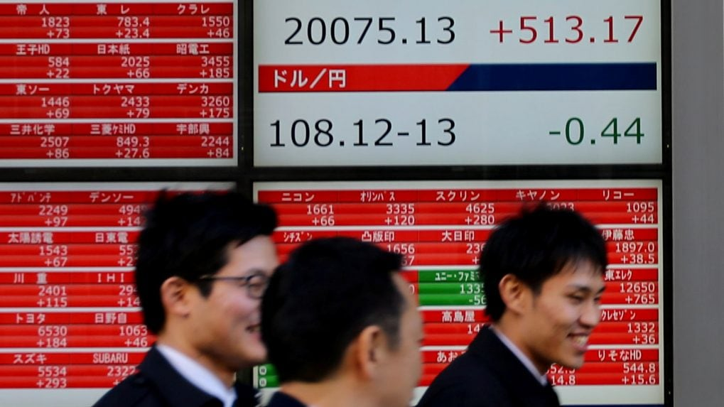 Asian stocks fail to catch Wall Street's Fed cheer as trade angst dominates