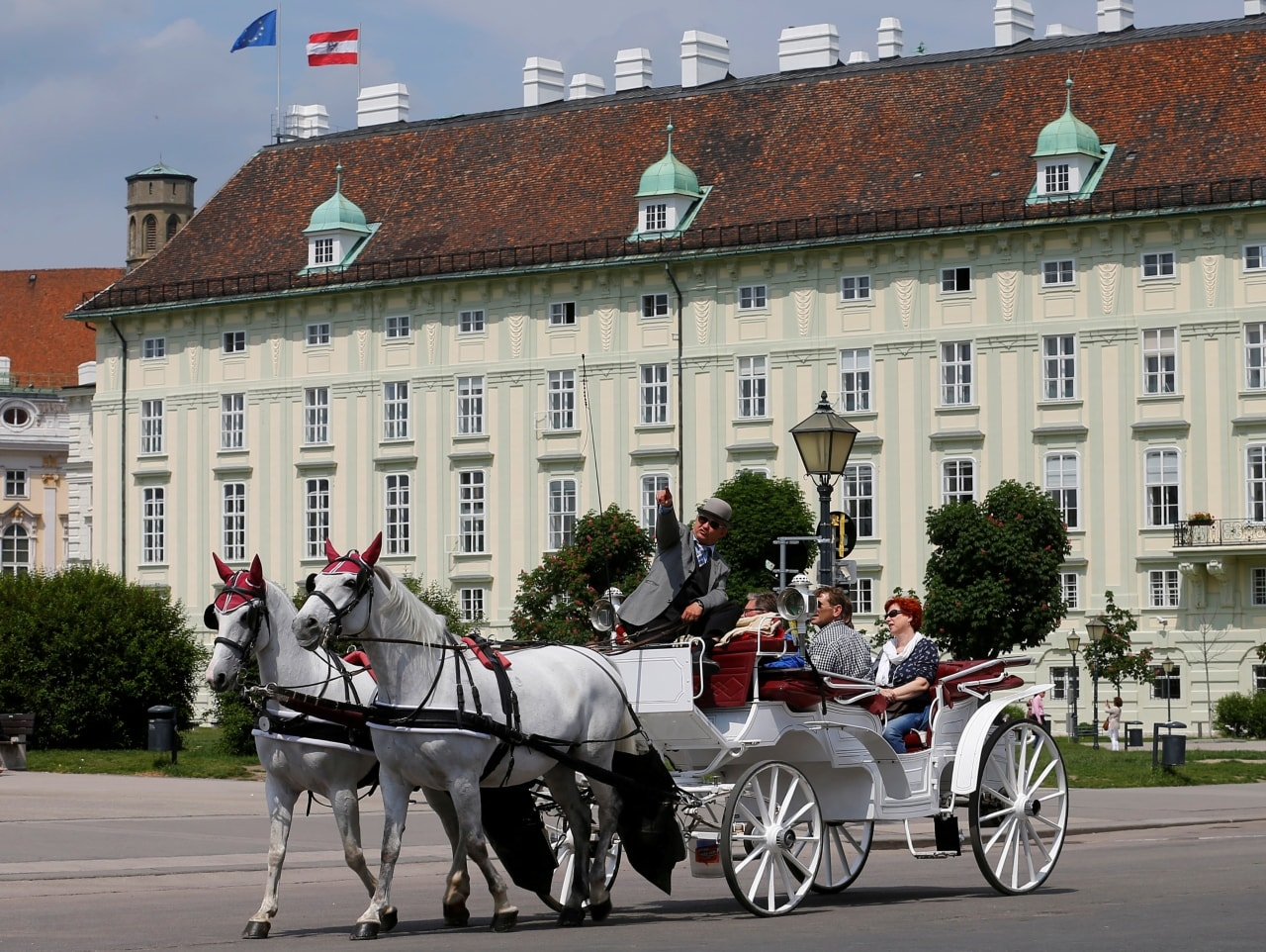 The Austrian capital Vienna has topped Mercer's index of most liveable cities for the 10th year in a row. Known by tourists for its imperial past, gilded palaces and classical music, the city of 1.9 million is also nicknamed