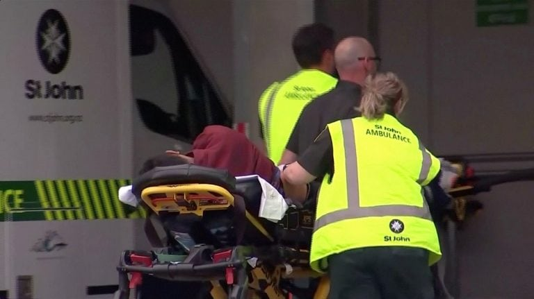 New Zealand mosque shootings kill at least 49, seriously wound 20