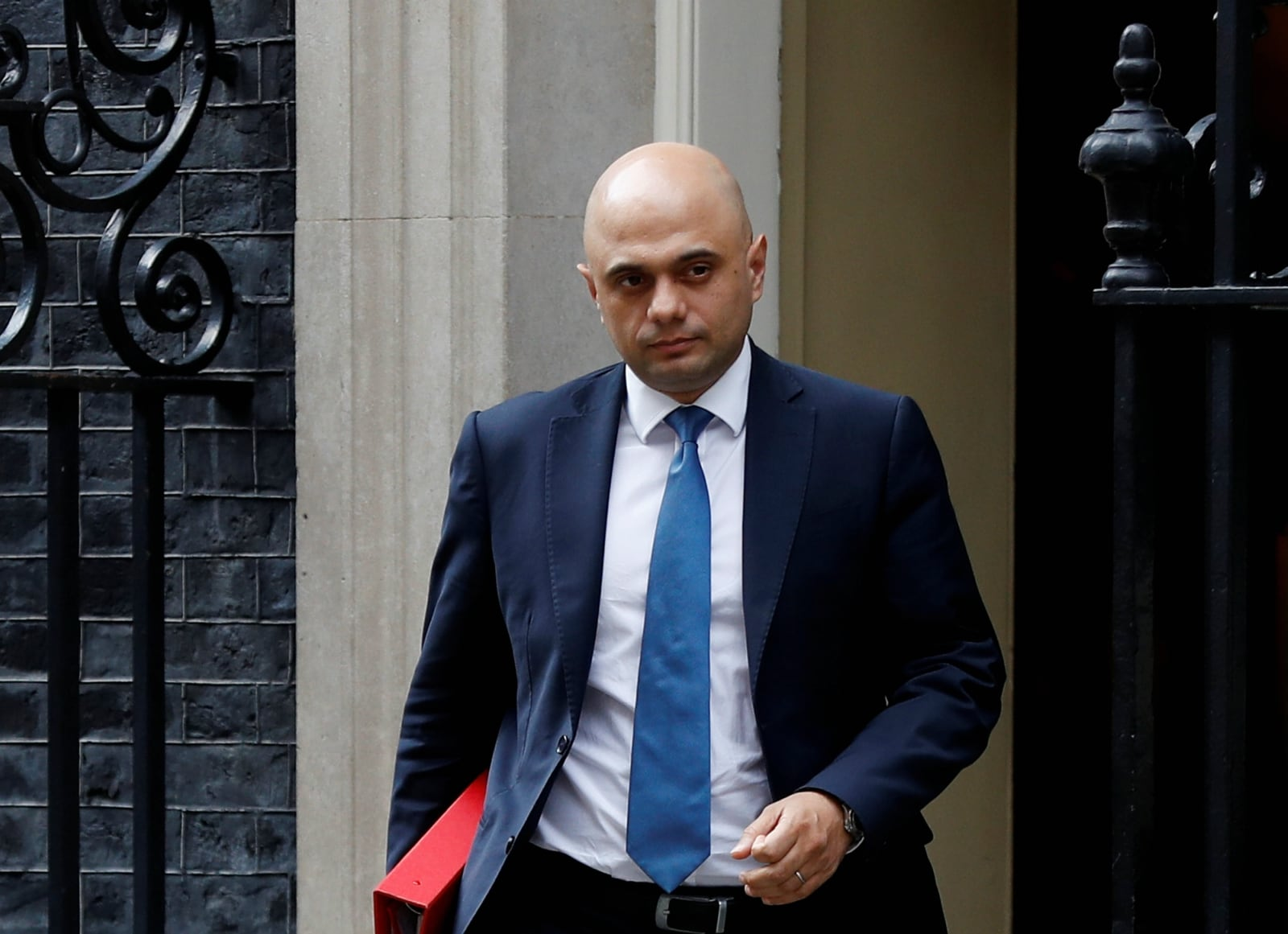SAJID JAVID, 49.  Javid, a former banker, and champion of free markets, has served a number of cabinet roles and scores consistently well in polls of party members. A second-generation immigrant of Pakistani heritage, he has a portrait of former Conservative Prime Minister Margaret Thatcher on his office wall. Javid voted to remain in the 2016 vote but was previously considered to be eurosceptic.