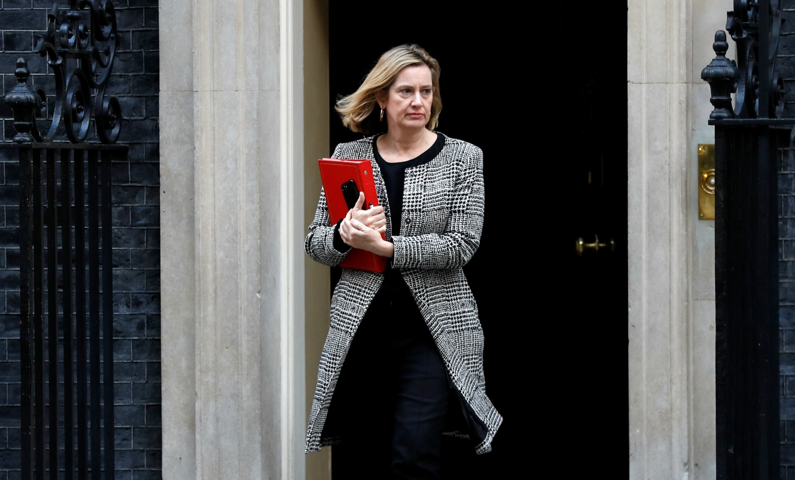 AMBER RUDD, 55. Rudd resigned as interior minister last year after facing an outpouring of indignation over her department's treatment of some long-term Caribbean residents who were wrongly labelled illegal immigrants. She could win support from pro-EU lawmakers in the Conservative Party. But she struggled to retain her seat at the 2017 election and has one of the smallest majorities in parliament.