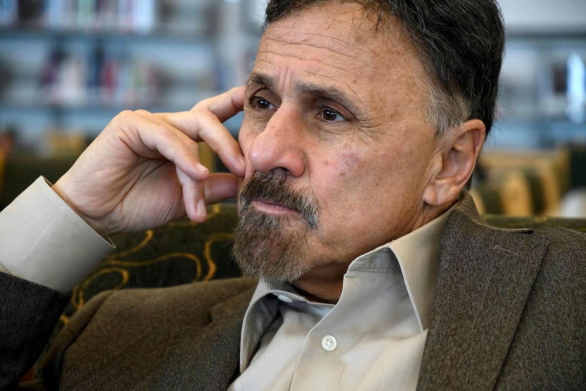Former Columbine principal Frank DeAngelis reflects about the upcoming 20th anniversary of the mass shooting at the suburban Denver high school. Twelve students and a teacher were killed in the April 20, 1999, attack.  (AP Photo/Thomas Peipert)