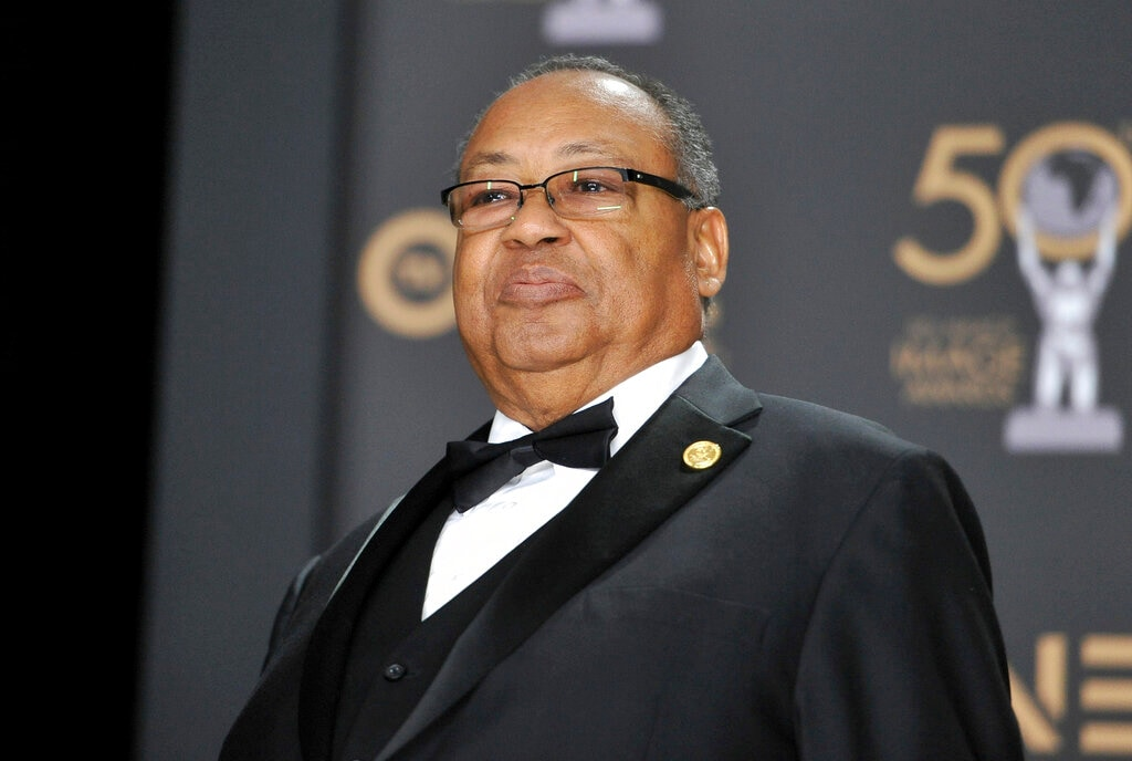 Leon W. Russell poses in the press room at the 50th annual NAACP Image Awards on Saturday, March 30, 2019, at the Dolby Theatre in Los Angeles. (Photo by Richard Shotwell/Invision/AP)
