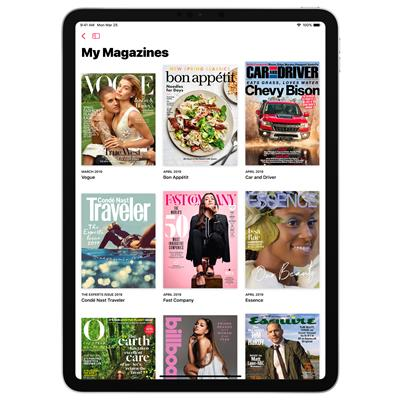 Apple News+ brings together over 300 popular magazines, leading newspapers and digital publishers into a beautiful, convenient and curated experience within the Apple News app.
