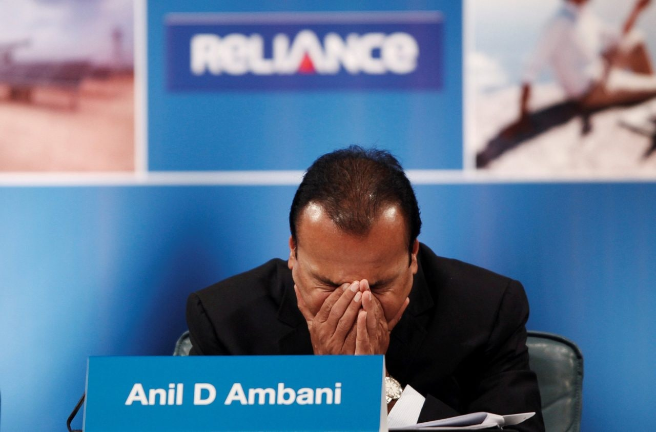 Reliance Capital  | The company has defaulted on interest payment on term loans of HDFC Ltd and Axis Bank as on October 31, 2020. The company failed to make an interest payment of Rs 4.77 crore to HDFC and Rs 71 lakh to Axis Bank.