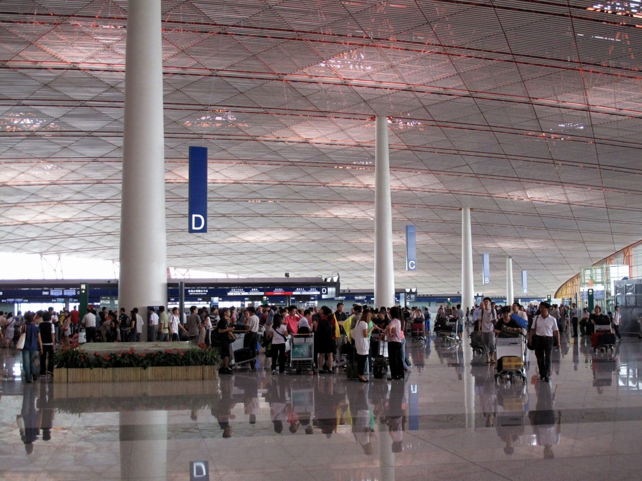 Beijing Capital International Airport surpassed the 100 million passengers mark in 2018, growing by 5.4 percent and became the second busiest airport.