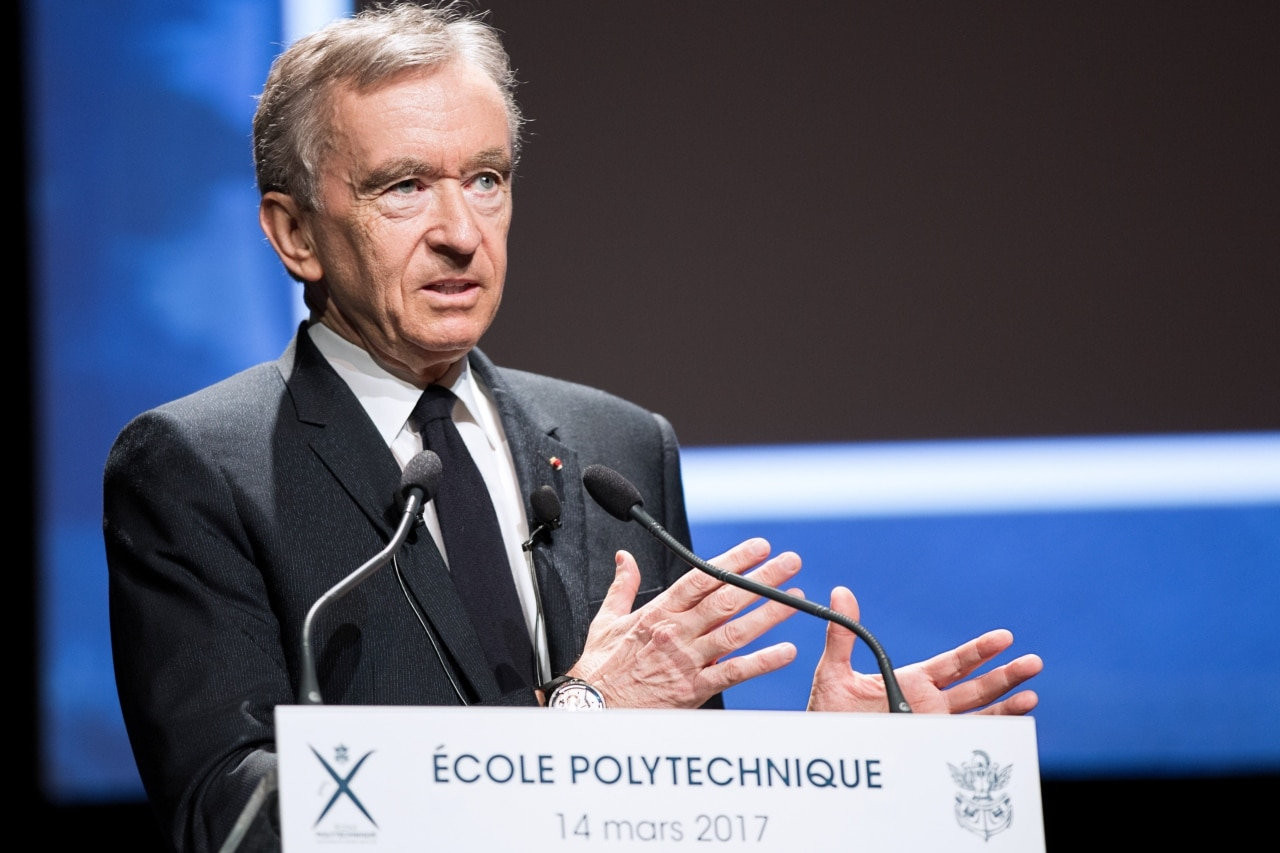 Bernard Arnault & family: Net Worth: $82.8 billion. Bernard Arnault oversees an empire of 70 brands including Louis Vuitton and Sephora. His father made a small fortune in construction; Arnault put up $15 million from that business to buy Christian Dior in 1985.