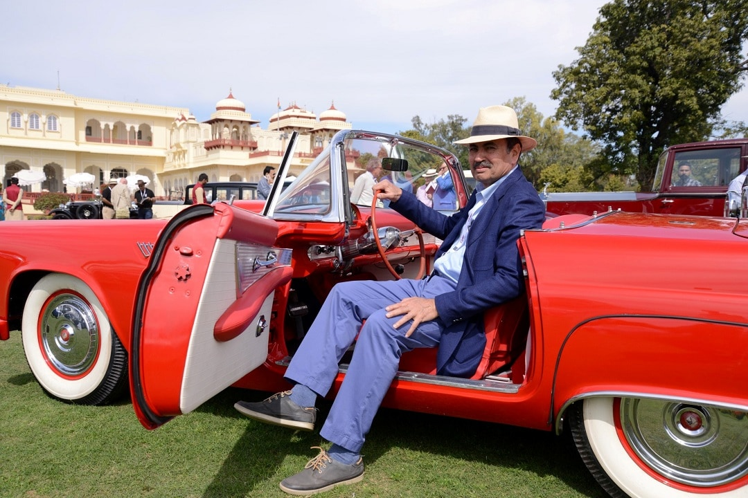Cartier Travel With Style Concours d'Elegance, Curator- H.H Rana Manvendra Singh of Barwani