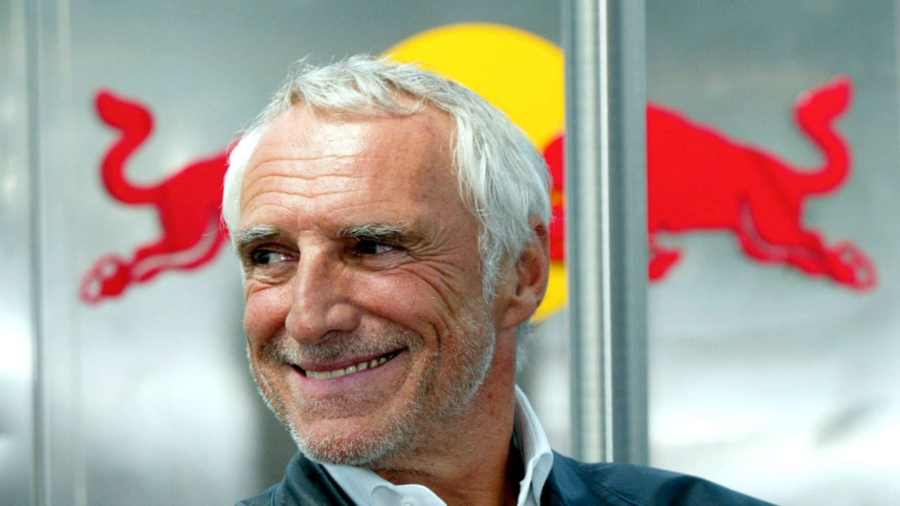 Dietrich Mateschitz (Net worth: $18.9 billion)-Dietrich Mateschitz is an Austrian billionaire businessman who co-founded the Red Bull energy drink company, and holds 49 percent of the company's shares.