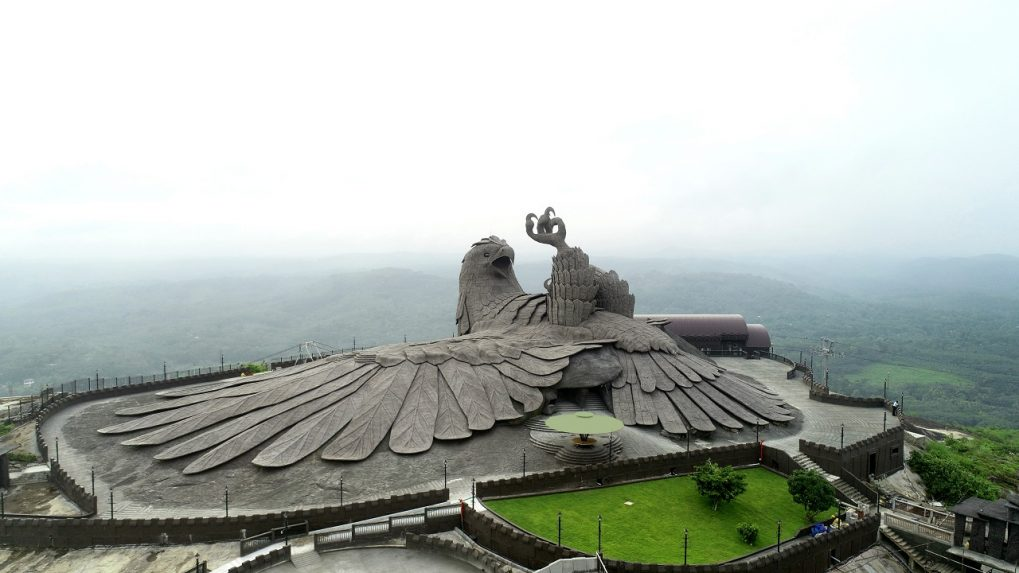 Kerala unveils Jatayu sculpture, a towering tribute to women's safety and honour
