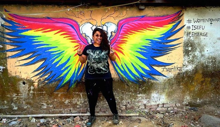 Ladies First: Street graffiti art in India gets an unexpected helping hand