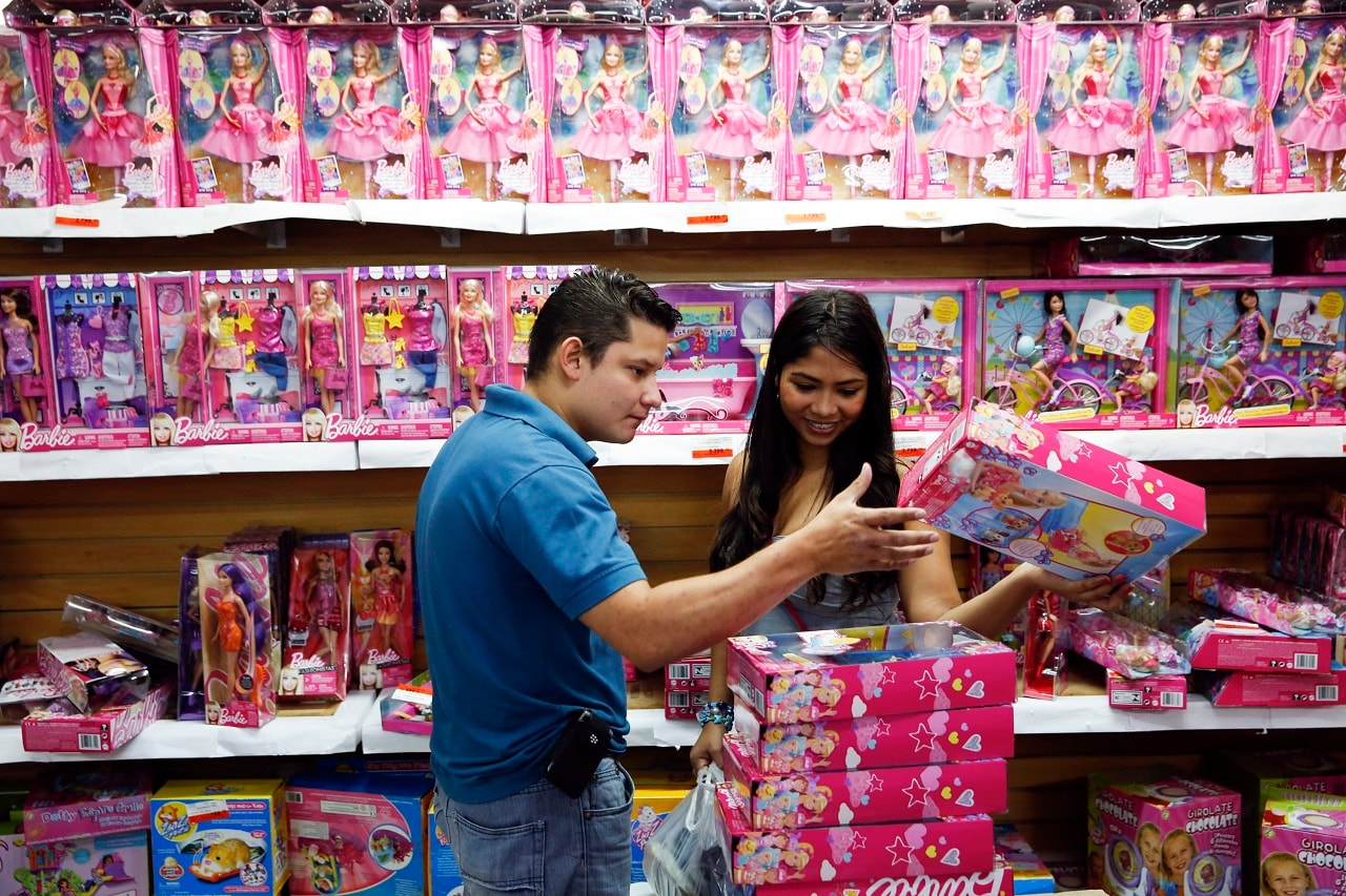 In all, more than one billion Barbie dolls have been sold since she made her debut at the American Toy Fair in New York on March 9, 1959. (Image: Reuters/Caption: PTI)