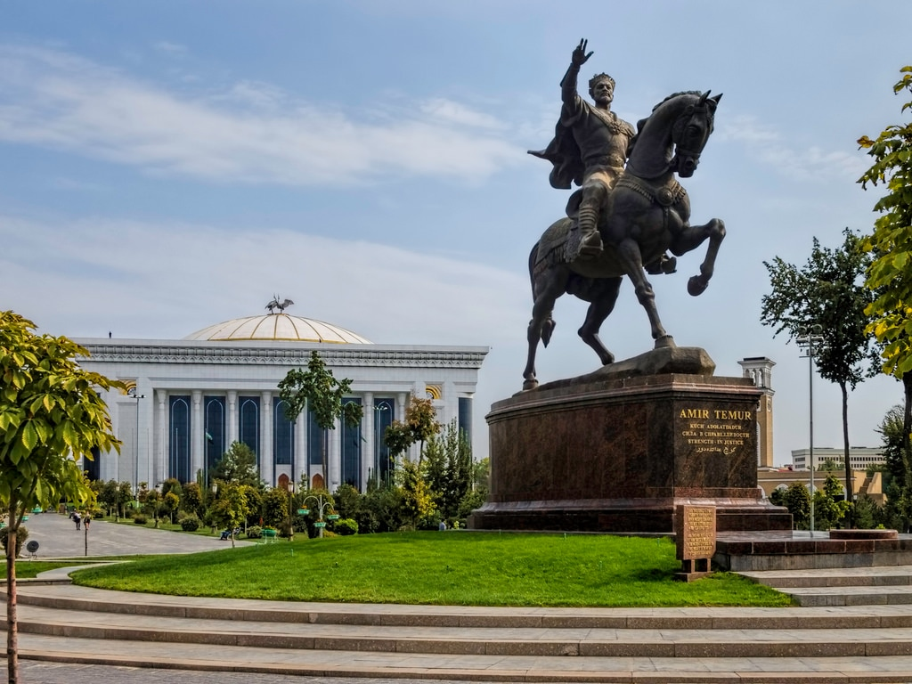 Tashkent is the capital city of Uzbekistan. It's known for its many museums and its mix of modern and Soviet-era architecture.