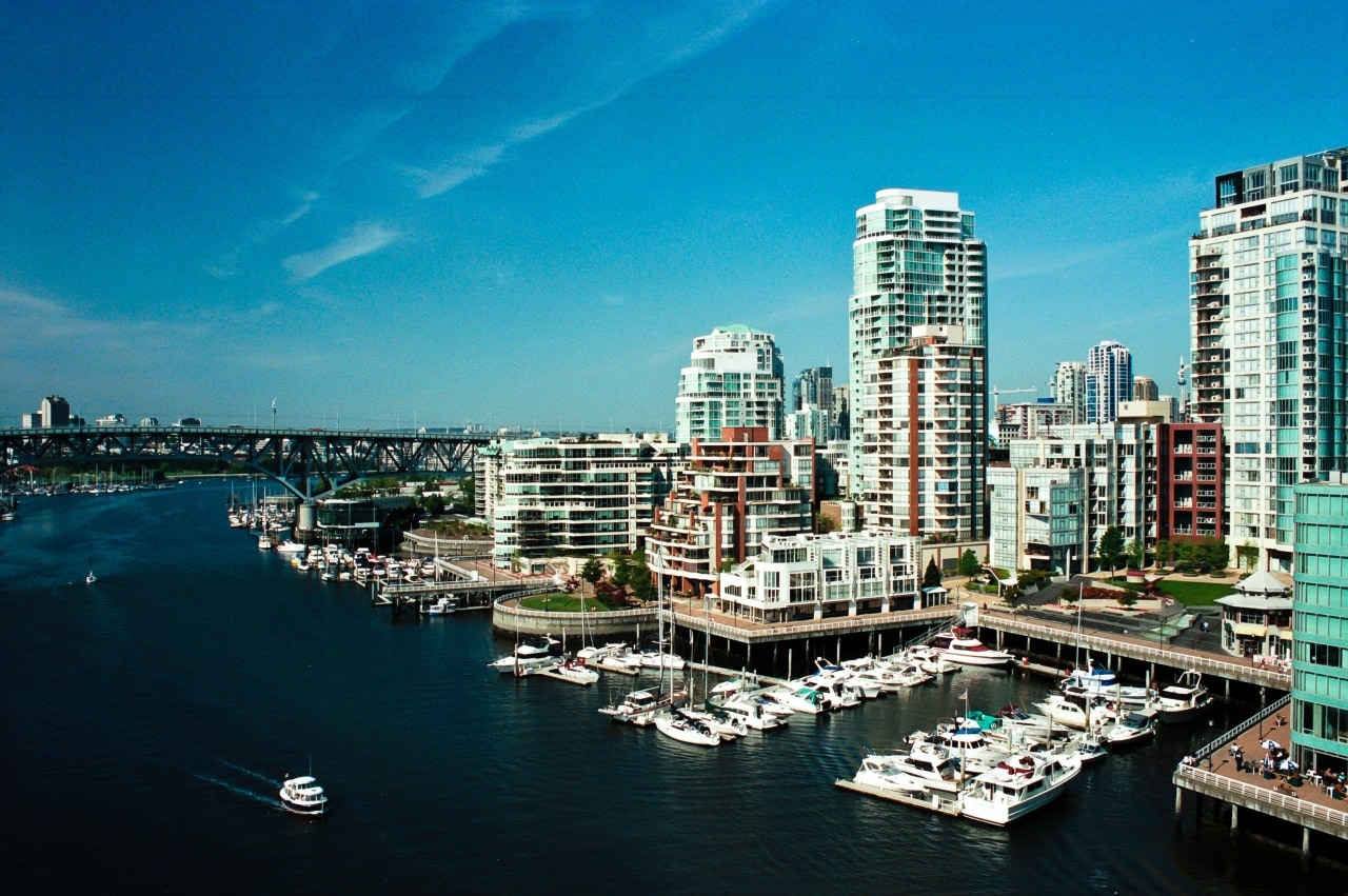 Vancouver, a bustling west coast seaport in British Columbia, is among Canada's densest, most ethnically diverse cities. It is ranked third in Mercer's Quality Of Living Index.