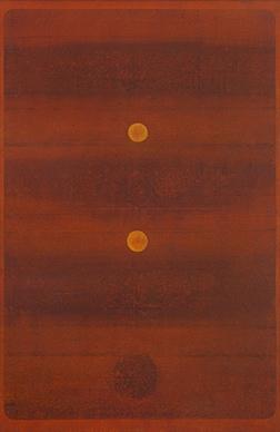 Untitled - V S Gaitonde. (1973). Winning Bid: Rs 25,24,00,000