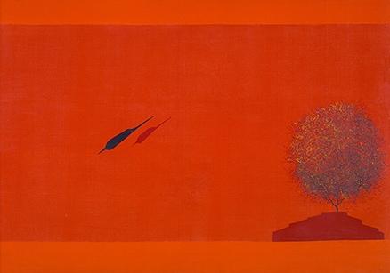 Untitled - Jagdish Swaminathan. (1986). Winning Bid: Rs 80,50,000