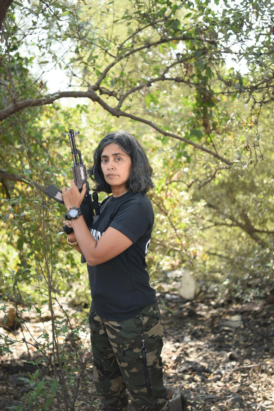 Seema Rao: A doctor, originally, and now a combat trainer. She is known for training all of India's elite armed forces in a close-quarter battle.