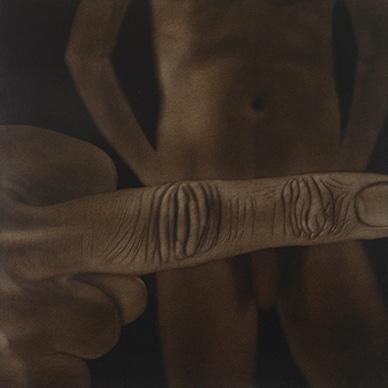 A Child, the Youth, now Man (2003) - Rameshwar Broota. Winning Bid: Rs 74,75,000