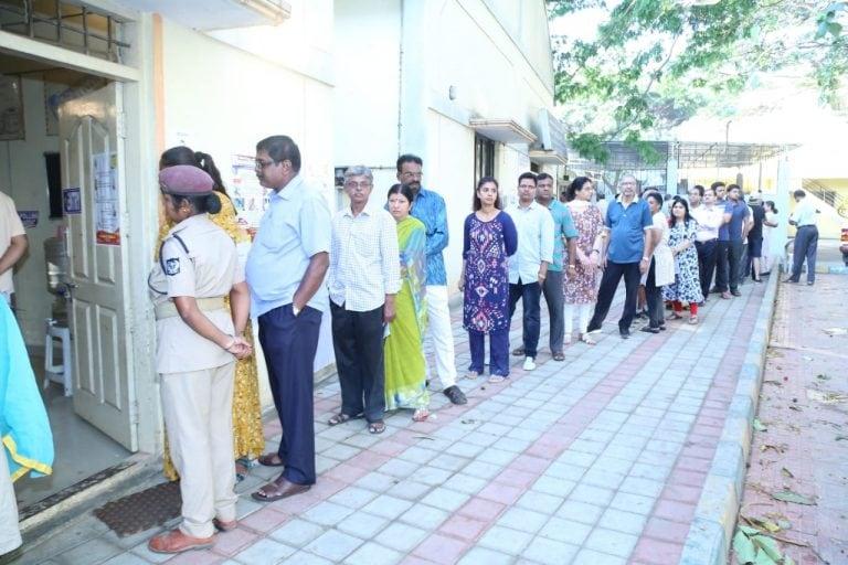 Lok Sabha Elections 2019 LIVE: Tamil Nadu sees 13.5% voting till 9 am, Manipur 15%, Bihar 12.2%, Chhattisgarh 13.4%, Karnataka 7.5%