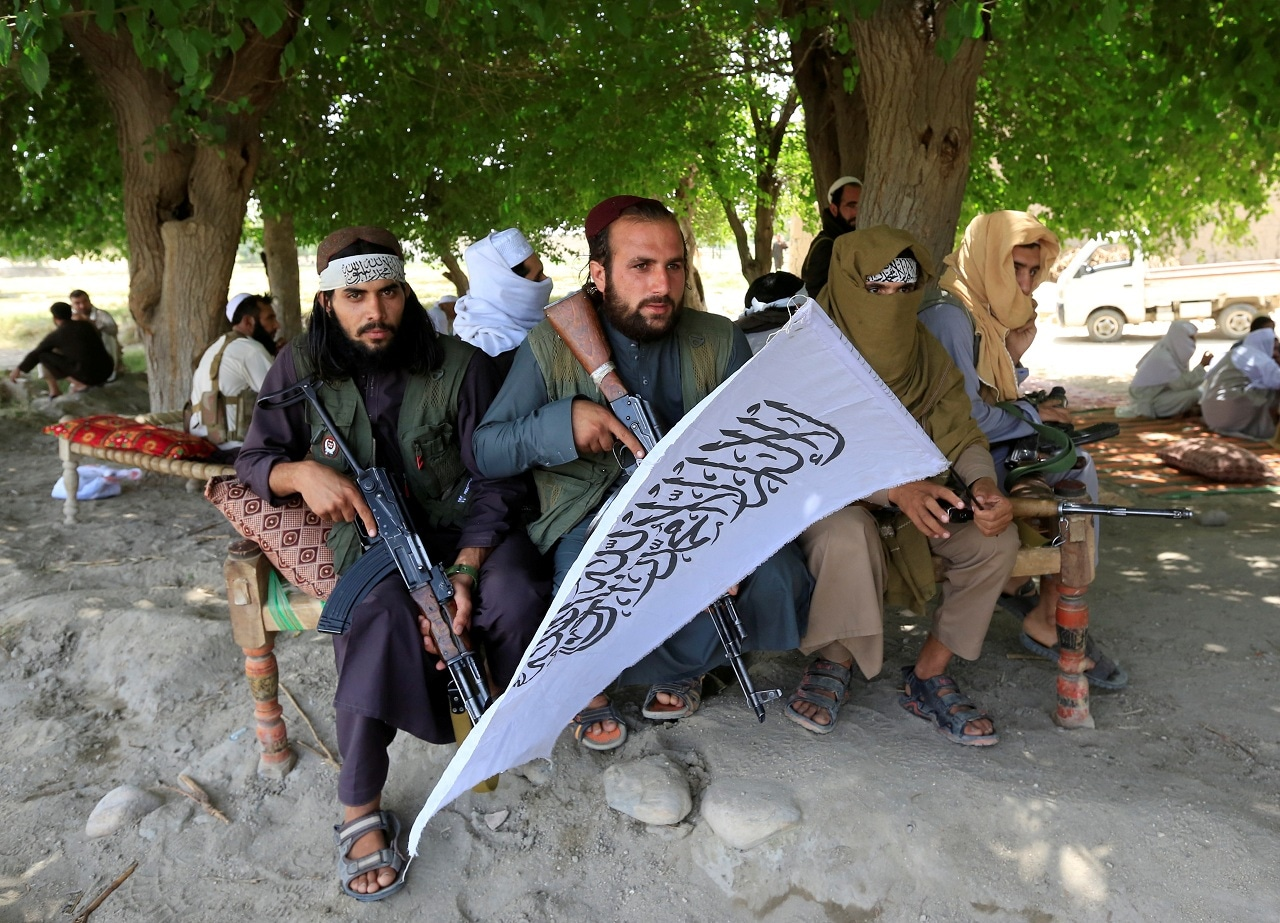 Taliban gather to celebrate ceasefire in Ghanikhel district of Nangarhar province, Afghanistan June 16, 2018. (Reuters/File Photo)