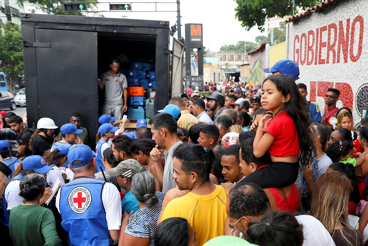 The United Nations estimates that a quarter of Venezuelans are in need of humanitarian assistance, with 1.9 million suffering from malnutrition and some 300,000 whose lives are at risk due to lack of medicine. REUTERS/Manaure Quintero