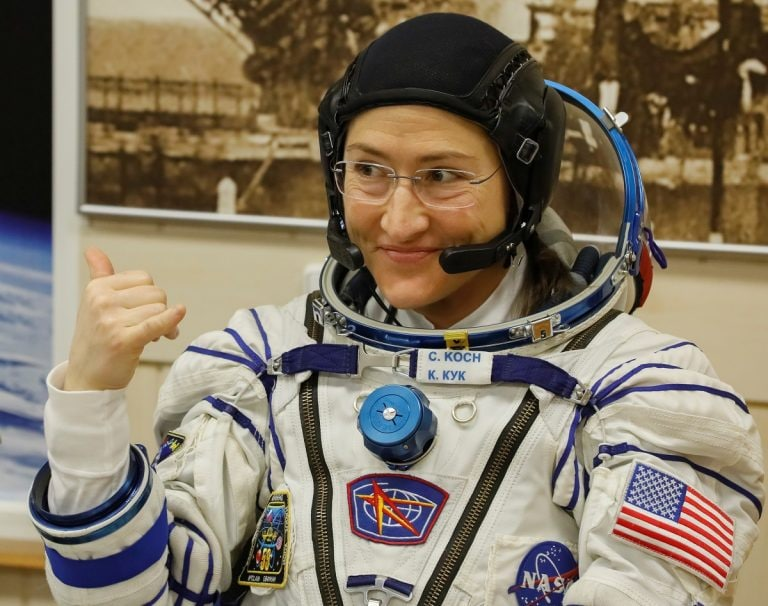 NASA says woman astronaut will set spaceflight record