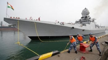 Indian, Australian warships arrive in China for naval parade