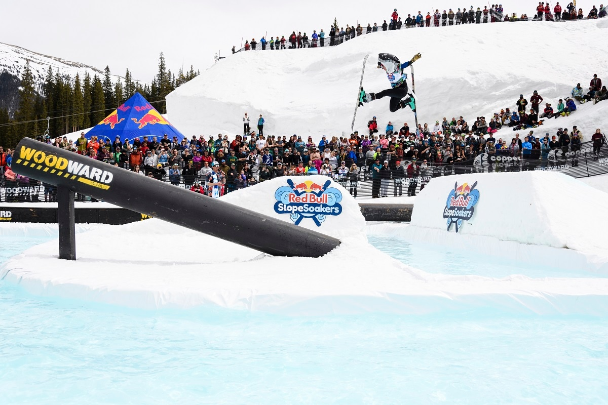 Participants compete at Red Bull SlopeSoakers (Brett Wilhelm / Red Bull Content Pool.)