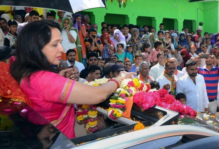 Mathura Lok Sabha Constituency Bjp S Outsider Hema Malini Pitted Against Brijwasi Rld S Narendra Singh Cnbctv18 Com