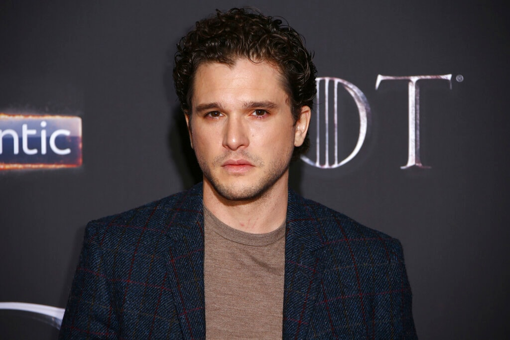 Actor Kit Harington poses for photographers at the premiere of season eight of the television show 'Game of Thrones' in Belfast, Northern Ireland, Friday, April 12, 2019. (Photo by Joel C Ryan/Invision/AP)