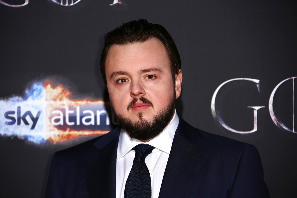 Actor John Bradley poses for photographers at the premiere of season eight of the television show 'Game of Thrones' in Belfast, Northern Ireland, Friday, April 12, 2019. (Photo by Joel C Ryan/Invision/AP)