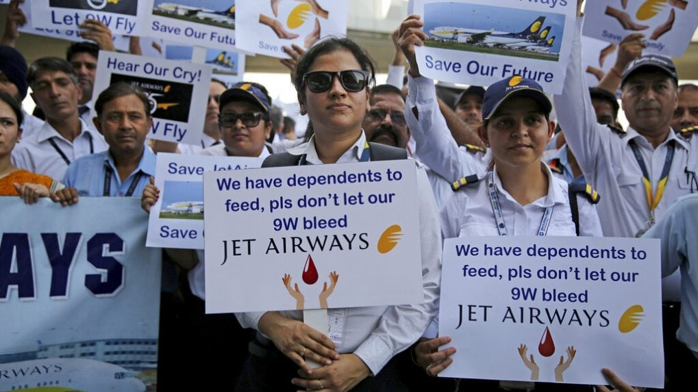 Jet Airways shares surge 13%, snapping 3-day losing streak