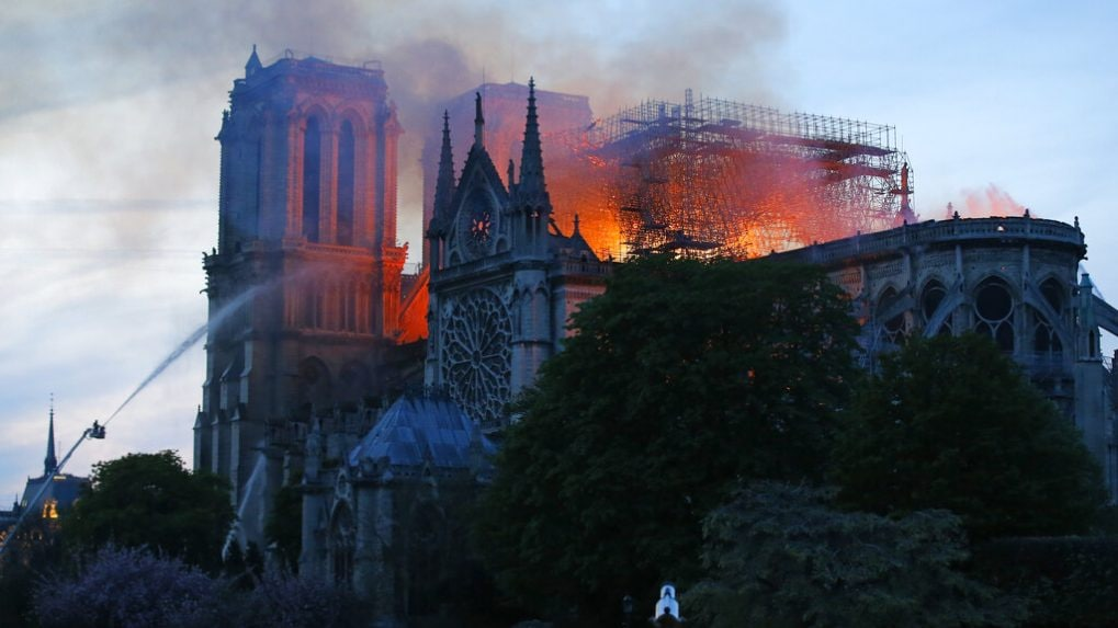 Up In Flames: Iconic buildings that were destroyed by fire