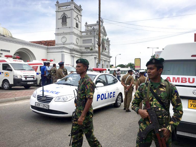 Pope condemns Sri Lanka Easter attacks as 'such cruel violence'