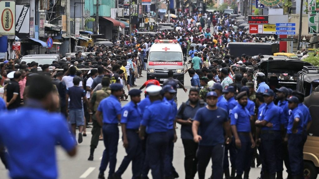 Sri Lanka police chief had warned of suicide attack threat before blasts