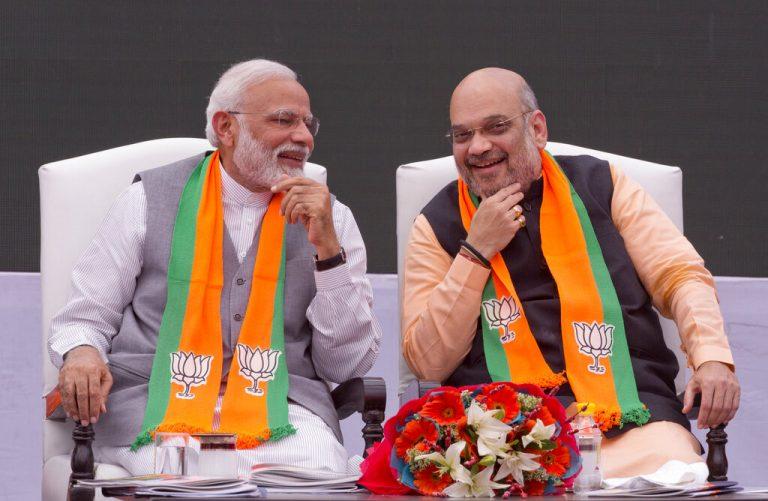 Lok Sabha Election Results: Narendra Modi, Amit Shah take big lead