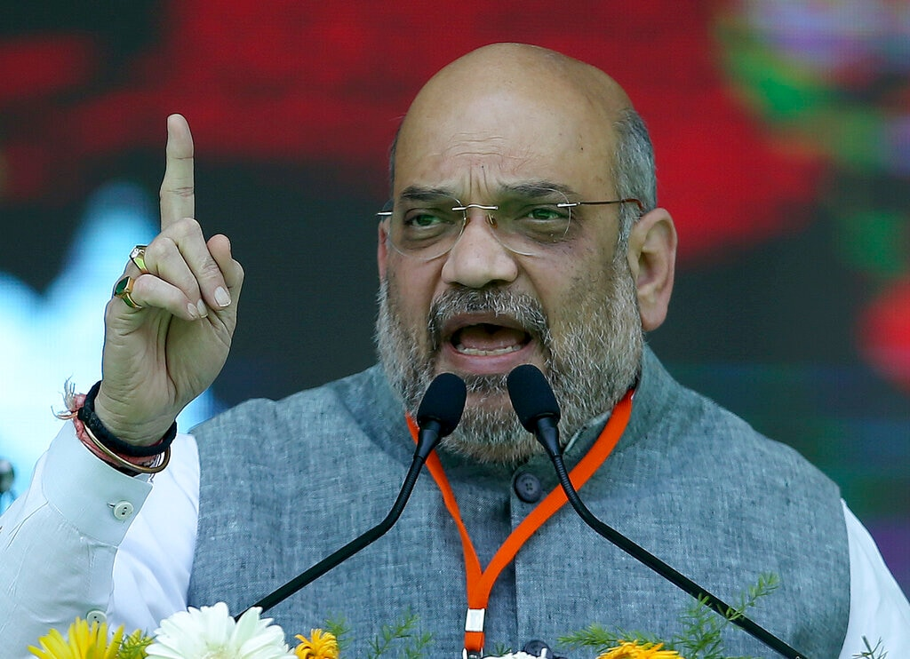 Amit Shah, Minister of Home Affairs: BJP chief Amit Shah, considered the architect of the BJP victory, joins the Narendra Modi Cabinet after a record win from the Ahmedabad seat in his debut Lok Sabha election. Shah, who has been Modi's most trusted lieutenant since the 1980s when both started their political careers in Gujarat, made a grand entry in the prime minister's group of ministers. (Photo: AP)