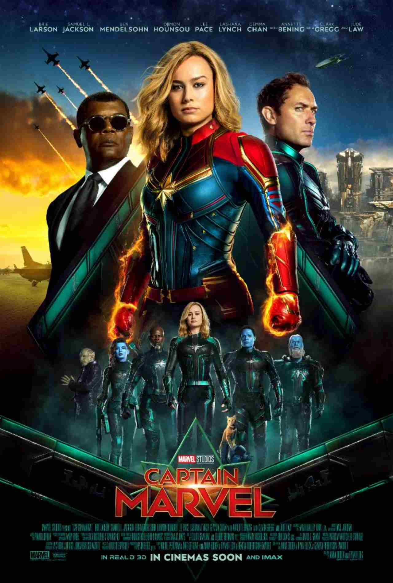 Captain Marvel | Box Office: Rs 85 crore (expected) | Marvel films have a strong audience base in India and that was evident in the recent release - Captain Marvel, which opened huge at Rs 13.01 crore. This was, in fact, the second biggest opening ever for a Hollywood film in India after Avengers: Infinity War. The movies weren't warmly received by one and all but still managed to hang on well to go past the Rs 80 crore mark. (Image: Captain Marvel/Twitter)