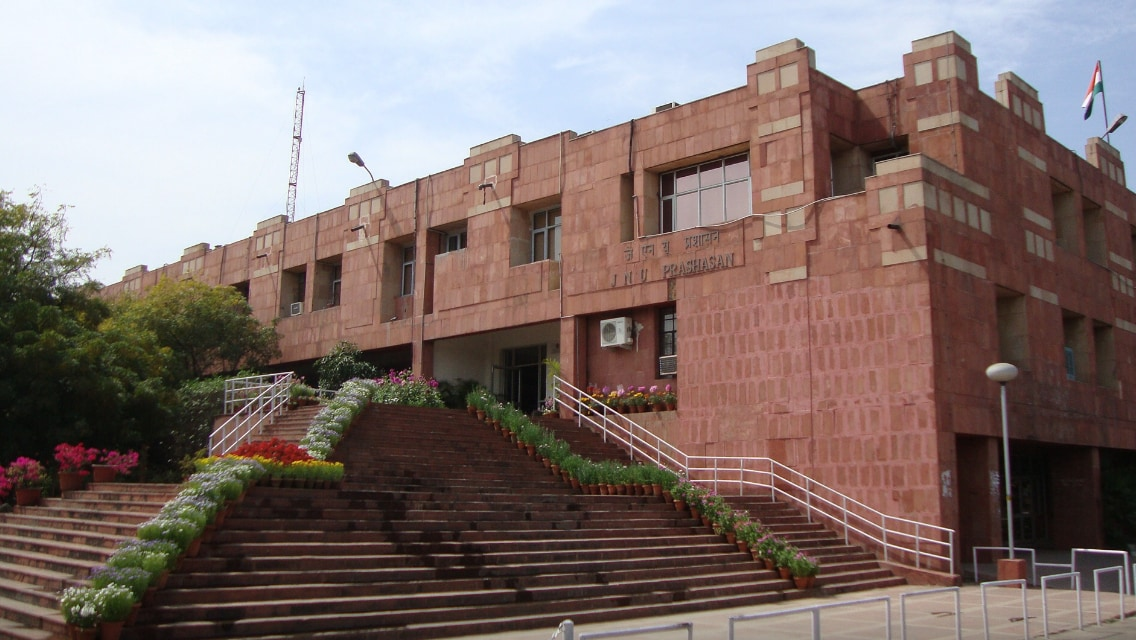 2. Jawaharlal Nehru University: The university, located in New Delhi, was established in 1969 by an act of parliament. It continues to among the top universities in India to offer courses in social sciences. (Image: JNU, Facebook page)