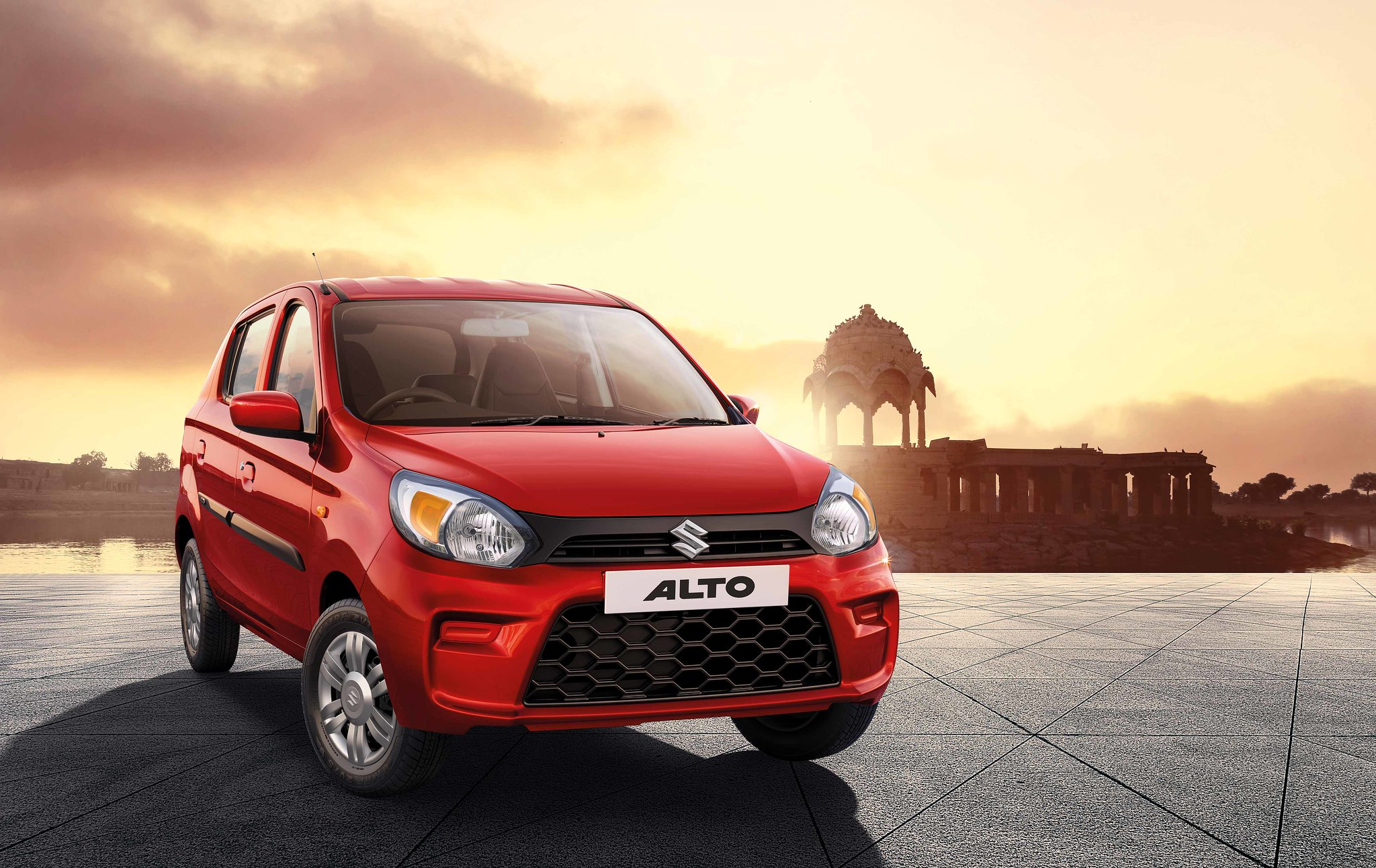 #1: Coming at the top spot is Maruti Suzuki's entry-level model Alto with the sale of 15,079 units as against 21,719 units in the year-ago month. (Image: MSI website/Caption: PTI)