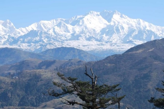 Tracing boundaries of Kangchenjunga landscape in sync with cross-border human-wildlife conflicts