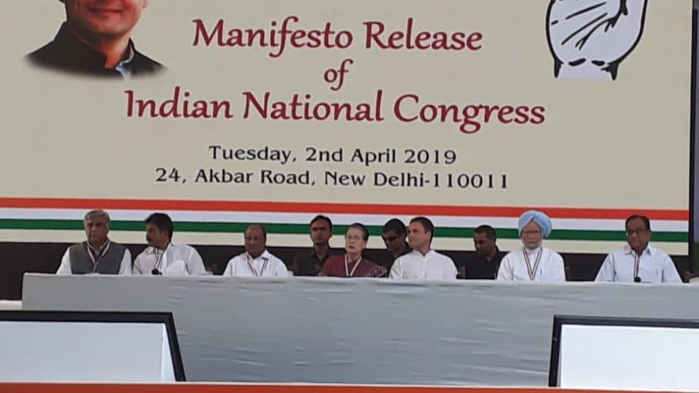 Congress releases manifesto for 2019 Lok Sabha elections: Here's what experts have to say