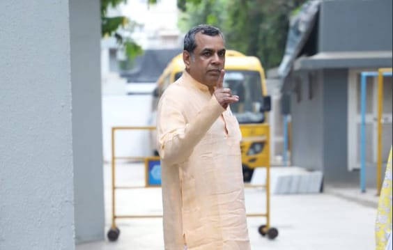 Actor and politician Paresh Rawal voted on Monday from Mumbai. Rawal represented the Ahmedabad East constituency in the current Lok Sabha, but is not contesting these elections.