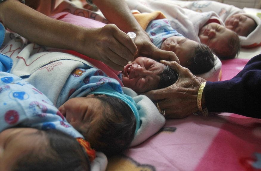 A newly designed vaccine may help stamp out remaining polio cases worldwide