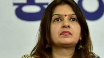 Ex-Congress spokesperson Priyanka Chaturvedi joins Shiv Sena
