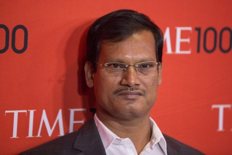Arunachalam Muruganantham, the maker of low-cost sanitary napkins, in Fortune's list of world's greatest leaders