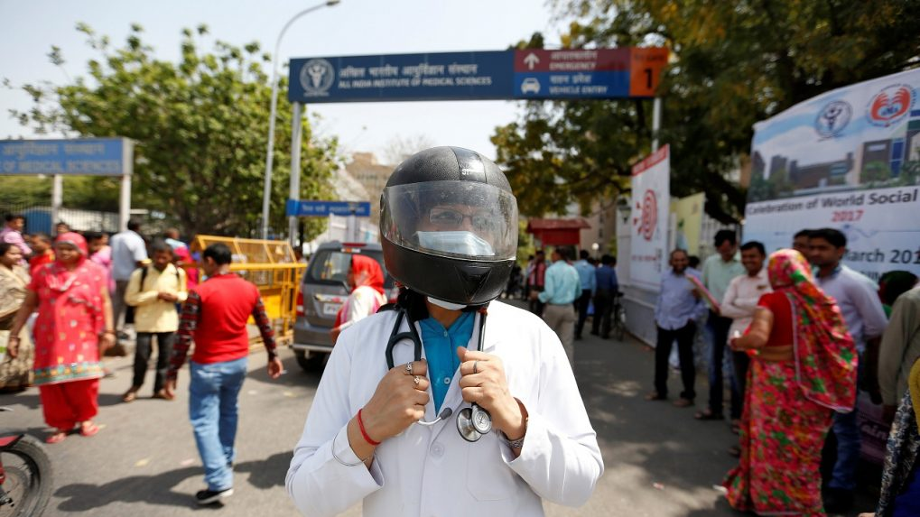 Delhi hospitals to join IMA's strike call on Monday, AIIMS to take out protest march